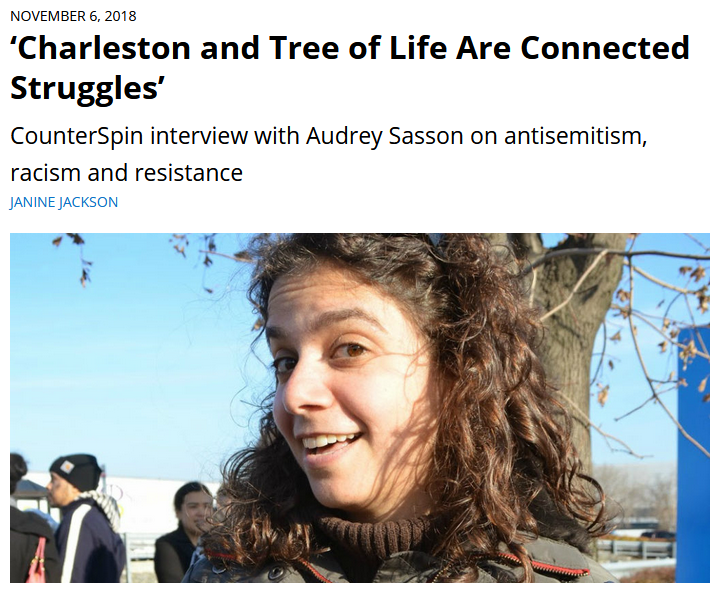 CounterSpin: 'Charleston and Tree of Life Are Connected Struggles'