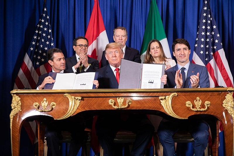 NAFTA 2.0 signing