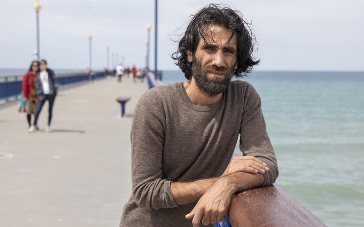 Kurdish-Iranian refugee Behrouz Boochani