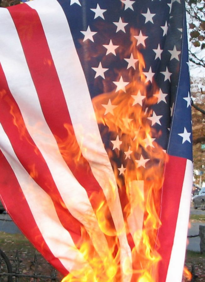 Great Debate: Should it be a crime to burn the American Flag? – The Crimson