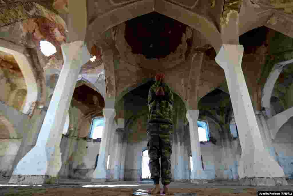 Inside the mosque on November 24