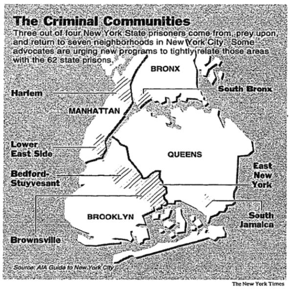 New York Times: Criminal Communities