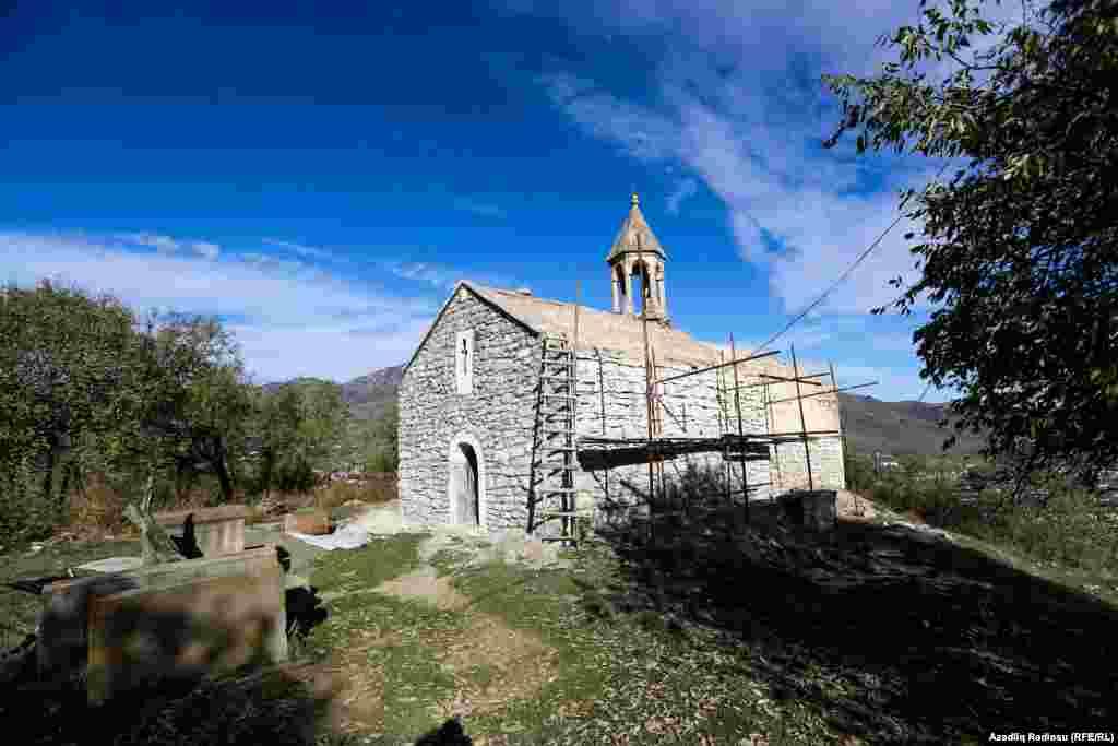 An Armenian church in Hadrut.