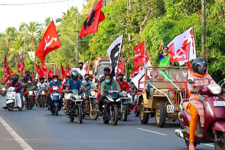 PP Divya campaigns in Kannur district>