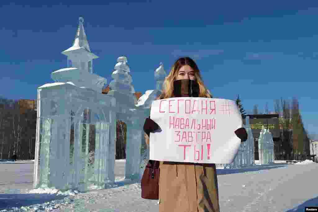 """Izhevsk: """"Today Navalny, tomorrow -- you!"""""""