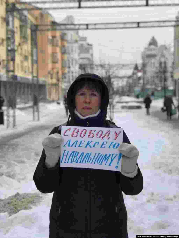 "Samara: ""Freedom for Aleksei Navalny"""