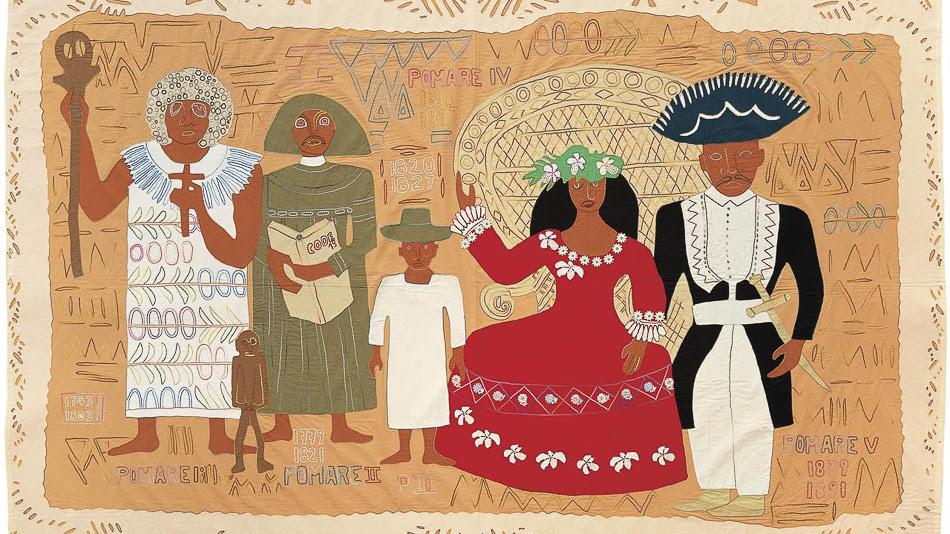 Aline Amaru (Tahiti), La Famille Pomare, 1991.