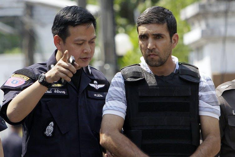 Bomb suspect Mohammad Kharzei