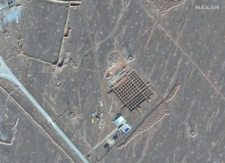 Iran's Fordo nuclear facility