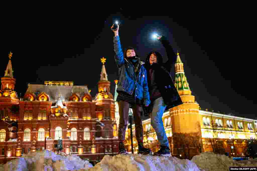 Near Red Square in Moscow