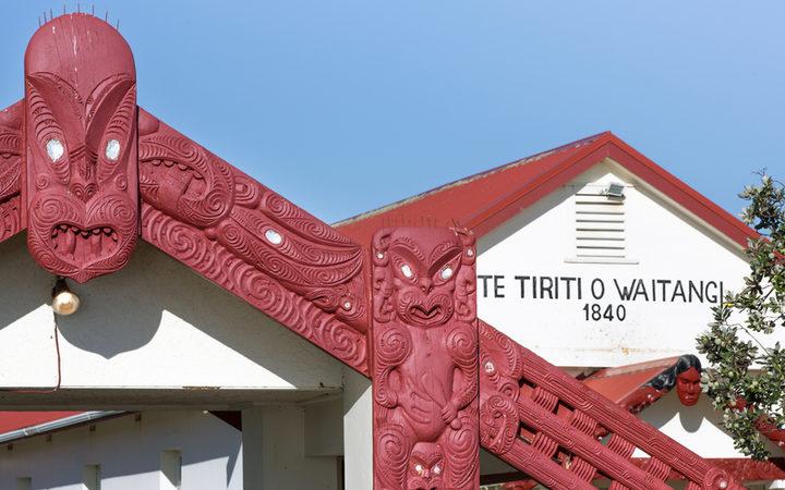 Te Tii Marae, Waitangi. 2017.