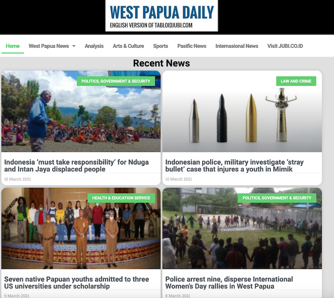 West Papua Daily 100321