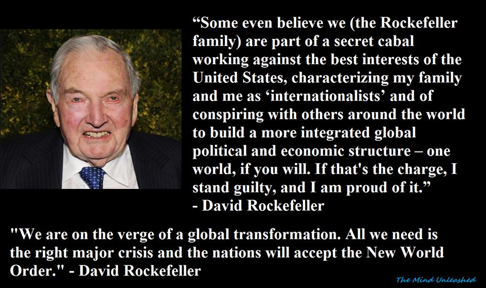 Satan Dead! (a.k.a.) Bankster-Globalist: David Rockefeller | caucus99percent